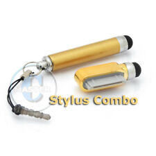 RETRACTABLE STYLUS 30pin PEN TOUCH SCREEN FOR IPHONE 3G 3GS 4 4S IPAD 3 2 1 GOLD