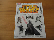 Star Wars:Revenge of the Sith.Ultimate Sticker Book.2005.Unused