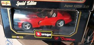Burago 1:18 Dodge Viper RT10 1992 Red. Boxed
