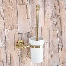 Accesorios De Baño Cepillo Conjunto Titular De Cromo Redondo montado en la pared para el cuarto de baño