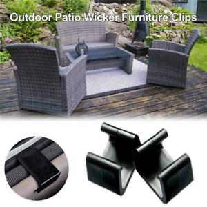 6cm Outdoor Patio Rattan Furniture Fastener Clips Sectional Sofa Connectors
