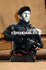 "Expendables 2 ""Statham"" Color Figure Tabletop Display Standee 10.5"""