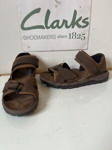 Clarks Active Air Leather Sandals Size UK 9 EU 43