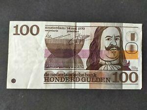 Pays bas billet 100 gulden 1970 / Niederlande Schein 100 gulden 1970