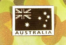 2x INFRARED IR REFLECTIVE SPECIAL FORCES AUSTRALIAN FLAG PATCH BADGE AUSSIE