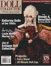 Doll Collector Magazine September 2012, For the Love of Dolls.