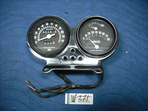 Harley FXR Police FXRP gauges tach speedo cups & mount Dyna XL Sheriff EPS14371