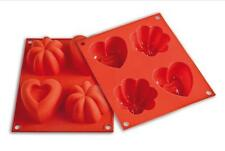 Stampo Happy Love Silikomart HSF 02 Forma Cuore silicone torte baby line - Rotex