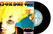 "ADAMSKI - FLASHBACK JACK (PUNK ROCK EDIT) - GERMAN 7"" 45 RECORD PIC SLV 1990"
