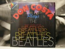 DON COSTA PLAYS THE BEATLES LP EXCELLENT COVER EX+