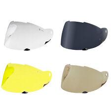 NEXX XR1.R Motorcycle Helmet Shield Visor Windscreen Yellow Silver Tint Clear +