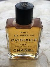 Vintage Chanel Cristalle Eau De Parfume Fluid 1fl oz ~  30ml 99% Full Paris NY