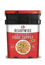 Readywise Ready Wise Emergency Food Supply 124 Servings +4 bonus - 25 Year Life