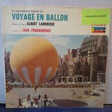 """Jean Prodromidès – La Merveilleuse Histoire Du Voyage En Ballon (10"""", LP, Rare)"""