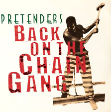 """THE PRETENDERS - Back On The Chain Gang (7"""") (VG-/VG)"""