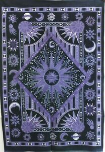 Poster Zodiac Tapestry Wall Hanging Mandala Hippie Gypsy Throw Bohemian Throw