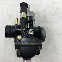 Racing Carburetor Carb OEM from Dellorto Model PHBG DS Black 17mm Mannual choke