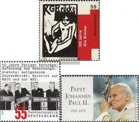BRD (BR.Deutschland) 2458,2459,2460 (kompl.Ausg.) gestempelt 2005 Sondermarken