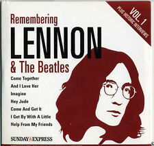 REMEMBERING LENNON & THE BEATLES: 2 CD SET - BADFINGER SANTANA MARMALADE ETC