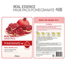Jluna Korean Cosmetics Natural Plant Essences Face Mask Pack 1PC Pomegranate