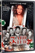 NEW DVD // 5 Card Stud // Khrystyne Haje, Lawrence H. Toffler, Kevin McClatchy,