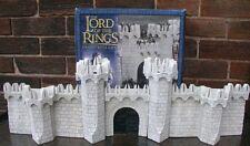 Games workshop señor de los anillos murallas de Minas Tirith Paisaje Nuevo Y En Caja Nuevo LOTR fuera de imprenta