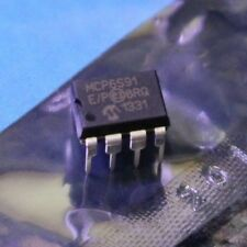 MCP6S91-E/P Operational amplifier 1-18MHz 2.5-5.5VDC Channels1 DIP8 with SPI