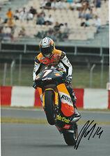 Randy de Puniet Hand Signed Repsol Aprilia 250cc 2005 12x8 Photo 1.