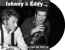 "Johnny Hallyday Eddy Mitchell 45t vol 3 vinyl Noir ""Money Honey"" Edition 2017"