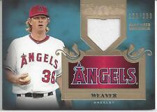 JERED WEAVER JERSEY RELIC # 129/399!!! 2011 TOPPS TIER ONE # TSR-28 ANGELS!!!