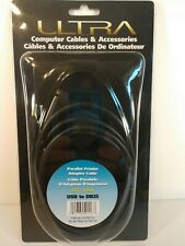 ULTRA USB to PRINTER DB25 25-Pin Parallel Port Cable Adapter - US SELLER - NEW