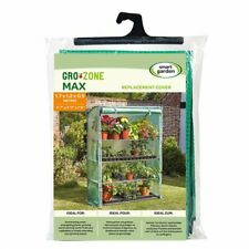 Smart Garden GroZone Max  Grow House Greenhouse Replacement Cover. Gro Zone