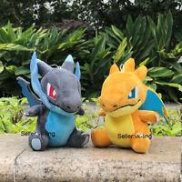 "2X Charizard XY Nintendo Pokemon Go Plush Toys Mega Stuffed Animal Cute Doll 6"""