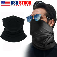 Motorcycle Cycling Cooling Face Mask Hunting Neck Gaiter Scarf Bandana Black US