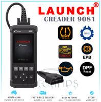 Launch Creader 9081 Auto Code OBD2 Scan Diagnostic Tool ABS+Oil+EPB+BMS+SAS+DPF