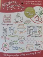 Stitcher's Revolution SR11 Kitch'n Stitch'n Hot Iron Embroidery Transfer Pattern