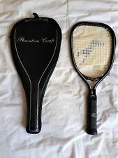 Slazenger Phantom Comp Squash Racket W/case Graphite Composite Racquet