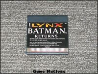 Batman Returns Game Only - Atari Lynx - FREE SHIPPING!