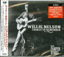 WILLIE NELSON-THINGS TO REMEMBER - THE PAMPER DEMOS-IMPORT CD WITH JAPAN OBI G88