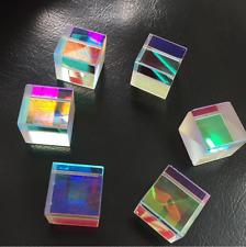 6pcs defektes RGB X-Würfel-Prisma-Kombinator-Verteiler-Kreuz Dichroitisches DIY