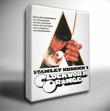 A CLOCKWORK ORANGE Film Giclee CANVAS Wall Art Print *Choose your size