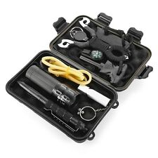 SOS Emergency Survival Equipment Kit Outdoor Gear Tool Tactical Hiking Camping