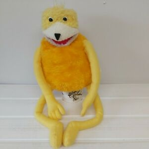 """VINTAGE  FLAT ERIC LEVIS 501 ADVERTISING CHARACTER - DR OIZO SOFT PLUSH TOY  22"""""""