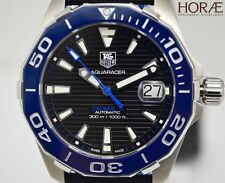 Tag Heuer Men's Aquaracer 300m Automatic black dial 41mm WAY211B.FC6363 textile