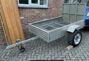 Aluminium/galvanised trailer 6' x 4' unbraked 500 Kg