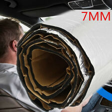 2.5x1m Car Heat Sound Proof Mat Floor Trunk Noise Insulation Dampen Deadener 7mm