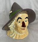 The+Wizard+of+Oz-SCARECROW+Cookie+Jar-No+Box-By+ENESCO-1998+%23857564