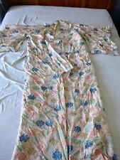 Kimono ancien broché argent