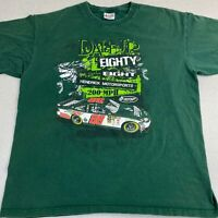 Chase T-Shirt Mens XL Green Dale Earnhardt Jr NASCAR Racing Pre-shrunk Cotton