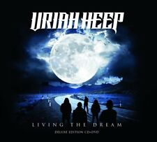 URIAH HEEP - LIVING THE DREAM (CD+DVD DIGIPAK)   CD+DVD NEUF